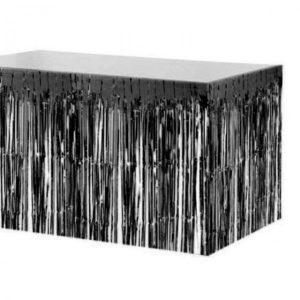 חצאית שולחן מטאלי